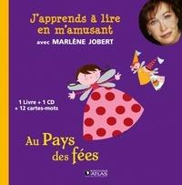 Marlène Jobert et Hélène Montardre - Au pays des fées. 1 CD audio