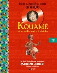 Marlène Jobert - Kouamé et les mille mains invisibles. 1 CD audio