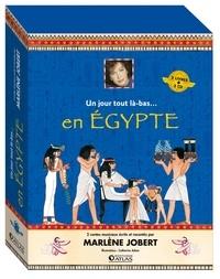 Marlène Jobert et Catherine Adam - L'Egypte ancienne - Coffret 2 volumes : Cléopâtre et le scarabée magique ; Toutankhamon et la larme d'or. 2 CD audio