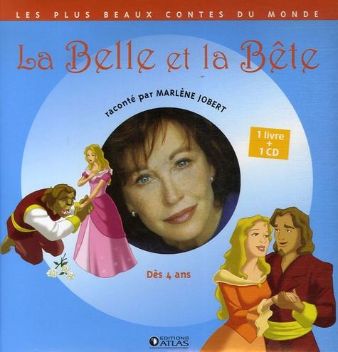 Marlène Jobert et Philippe Harchy - La Belle et la Bête. 1 CD audio