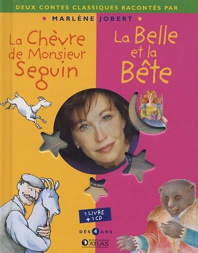 Marlène Jobert - La Chèvre de monsieur Seguin ; La Belle et la Bête. 1 CD audio