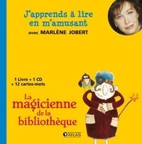 Marlène Jobert - La magicienne de la bibliothèque. 1 CD audio