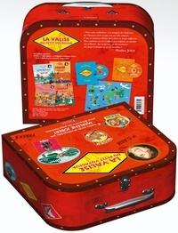 Marlène Jobert et Marcelino Truong - La valise petit voyageur - Pour découvrir les pays lointains. 2 CD audio