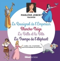 Marlène Jobert et  Atelier Philippe Harchy - Le Rossignol de l'Empereur ; Blanche-Neige ; La Belle et la Bête ; La Trompe de l'éléphant. 1 CD audio
