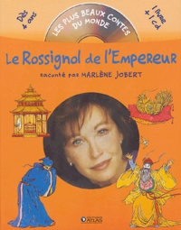 Marlène Jobert et Hans Christian Andersen - Le Rossignol de l'Empereur. 1 CD audio