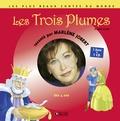 Marlène Jobert - Les 3 plumes - Dès 4 ans. 1 CD audio