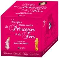 Marlène Jobert et Philippe Harchy - Les plus beaux contes de princesses et de fées. 2 CD audio