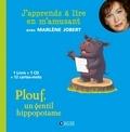 Marlène Jobert - Plouf, un gentil hippopotame. 1 CD audio