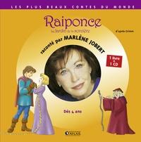 Marlène Jobert - Raiponce, le Jardin de la sorcière. 1 CD audio