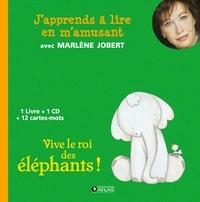 Marlène Jobert - Vive le roi des éléphants !. 1 CD audio