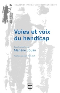 Marlène Jouan - Voies et voix du handicap.