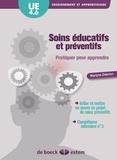 Marlyne Dabrion - Soins éducatifs et préventifs UE 4.6 S4 - Pratiquer pour apprendre.