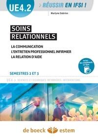 Marlyne Dabrion - Soins relationnels, semestre 2 et 3 - UE 4.2.