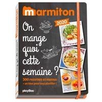 Pdf de téléchargement de livres On mange quoi cette semaine ?  - 300 recettes et menus + un bloc pour tout planifier  par Marmiton 9782809668711