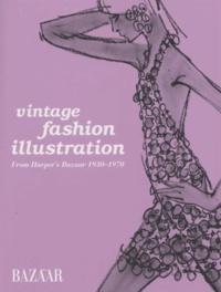 Marnie Fogg - Vintage fashion illustration - From Harper's Bazaar 1930-1970.