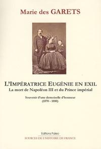 Limpératrice Eugénie en exil, la mort de napoléon III et du prince impérial - Souvenirs dune demoiselle dhonneur (1870-1880).pdf