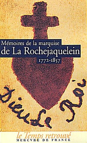 Marquise de La Rochejaquelein - .