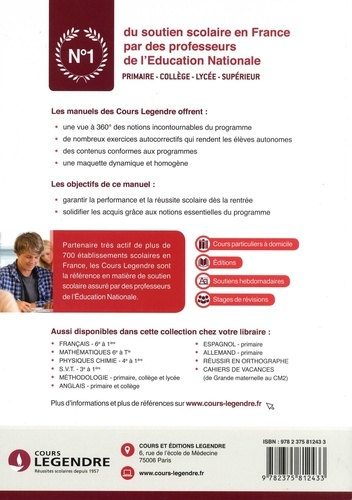Français 2de et 1re. Cours, méthode, exercices, corrigés