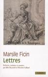 Marsile Ficin - Lettres.