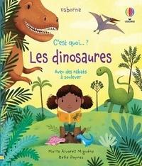 Marta Alvarez Miguéns et Katie Daynes - C'est quoi... Les dinosaures ? - Avec des rabats à soulever.