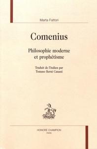 Marta Fattori - Comenius - Philosophie moderne et prophétisme.