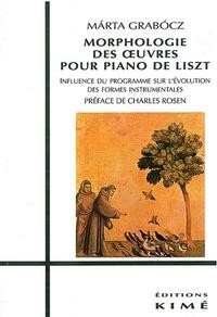 Marta Grabocz - Morphologie des oeuvres pour piano de Liszt - Influence du programme sur l'évolution des formes instrumentales.