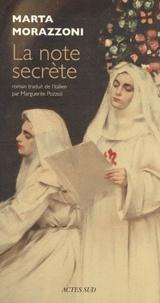 Marta Morazzoni - La note secrète.