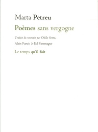 Marta Petreu - Poèmes sans vergogne.