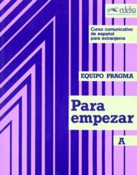 Marta Topolevsky Bleger et Ernesto Martin Peris - PARA EMPEZAR. - Tome A..
