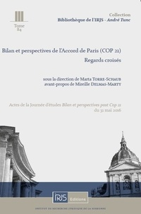 Bilan et perspectives de lAccord de Paris (COP 21) - Regards croisés.pdf