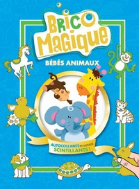 Martha Day Zschock - Bébés animaux - Autocollants en mousse scintillants !.