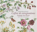 Marthe Seguin-Fontès - Langage des Fleurs - Coffret de correspondance.