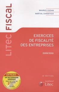 Martial Chadefaux et Maurice Cozian - Exercices de fiscalité des entreprises.