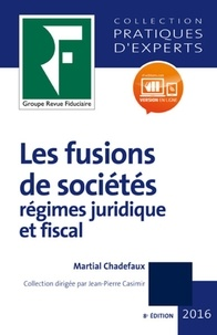 Les fusions de sociétés - Martial Chadefaux pdf epub