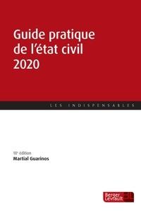 Martial Guarinos - Guide pratique de l'état civil.