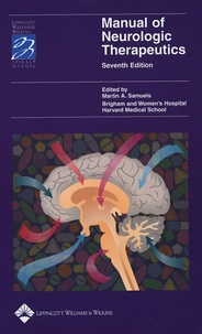 Martin A Samuels - Manual of Neurologic Therapeutics.