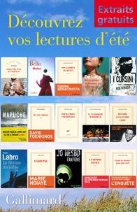 Martin Amis et Antoine Bello - Extraits gratuits - Lectures d'été Gallimard.
