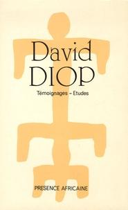 Martin Ayidi et Fernando d' Almeida - David Diop (1927-1960) - Témoignages - Etudes.