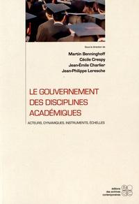Deedr.fr Le gouvernement des disciplines académiques - Acteurs, dynamiques, instruments, échelles Image