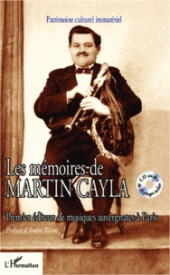Blackclover.fr Les mémoires de Martin Cayla - Premier éditeur de musiques auvergnates à Paris Image