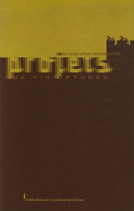 Martin Chenot - Projets de fin d'études 2003-2004 à l'école nationale supérieure d'architecture de Saint-Etienne.
