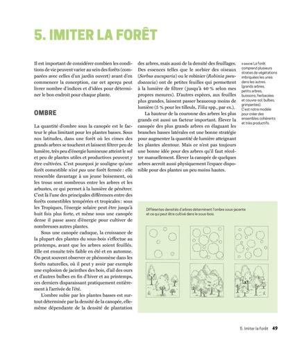La forêt-jardin. Créer une forêt comestible en permaculture pour retrouver autonomie et abondance