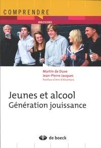 Martin De Duve et Jean-Pierre Jacques - Jeunes et alcool - Génération jouissance.