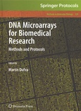 Martin Dufva - DNA Microarrays for Biomedical Research - Methods and Protocols.