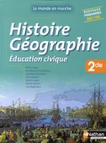 Martin Fugler et Anne-Marie Gérin-Grataloup - Histoire Géographie Education civique 2nde Bac Pro - Livre de l'élève.