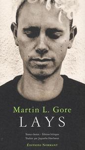 Martin Gore - Lays - Edition bilingue.