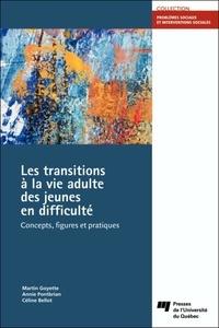 Martin Goyette et Annie Pontbriand - Les transitions à la vie adulte des jeunes en difficulté - Concepts, figures et pratiques.
