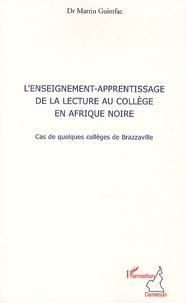 Openwetlab.it L'enseignement-apprentissage de la lecture au collège en Afrique Noire - Cas de quelques collèges de Brazzaville Image