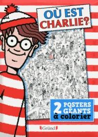Martin Handford - Où est Charlie ? - 2 posters géants a colorier.