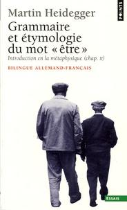 En guise de contribution à la grammaire et létymologie du mot être - Edition bilingue français-allemand.pdf